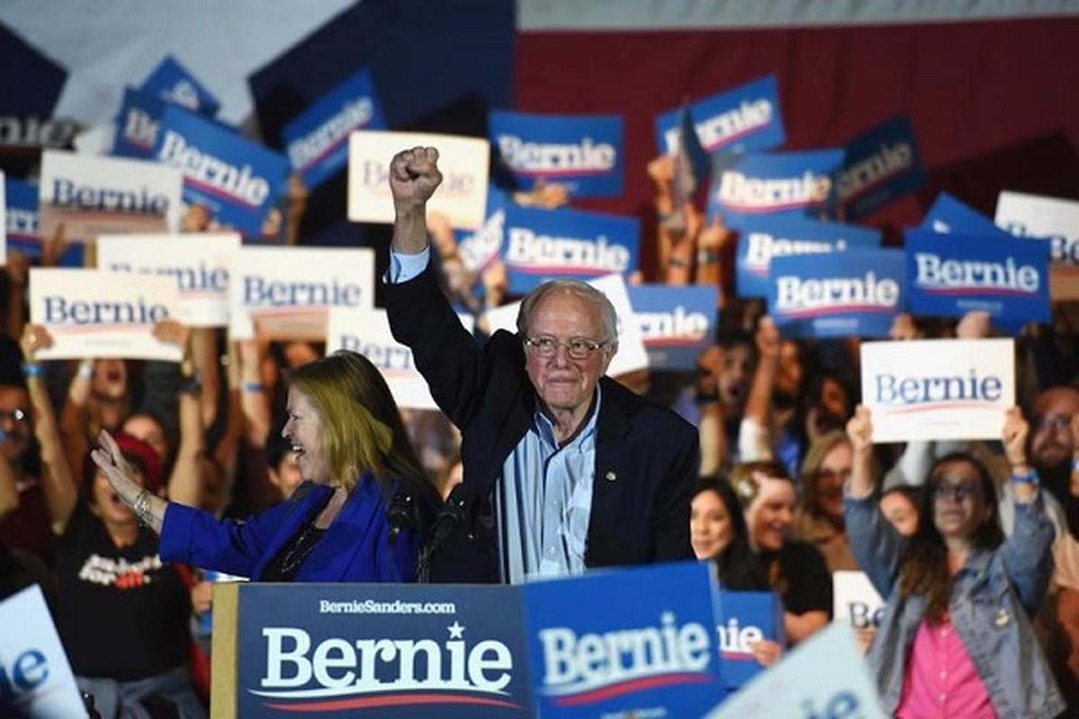 Anh: Ung vien Tong thong My Bernie Sanders lai thang lon tai Nevada