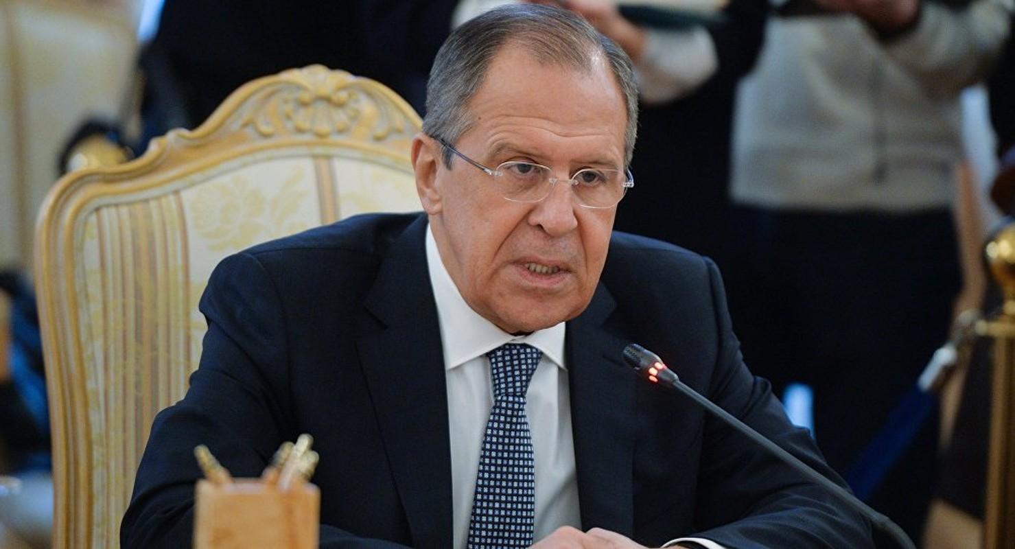 Loat hinh an tuong Ngoai truong Nga Sergei Lavrov trong cong viec, doi thuong