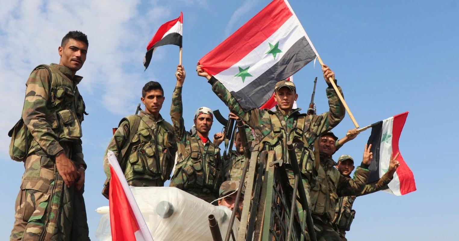 Quan doi Syria thang lon truoc khung bo o dong bang al-Ghaab