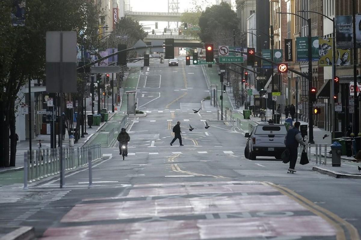 """Can canh San Francisco nhung ngay im ang giua """"bao"""" COVID-19"""