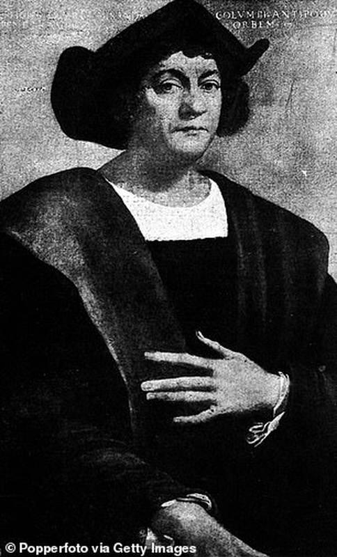 Can canh tuong Christopher Columbus bi pha hoai giua bieu tinh o My-Hinh-5