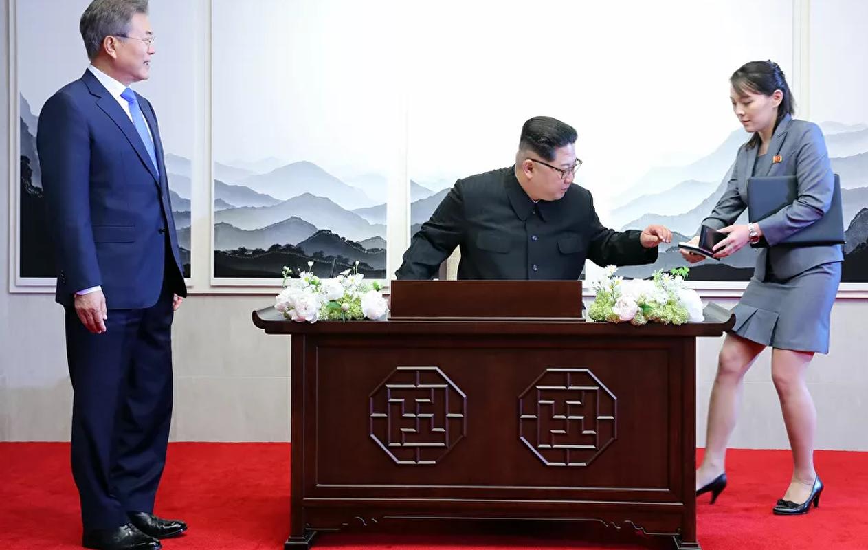 Loat anh hiem ve nguoi em gai quyen luc cua ong Kim Jong-un-Hinh-5