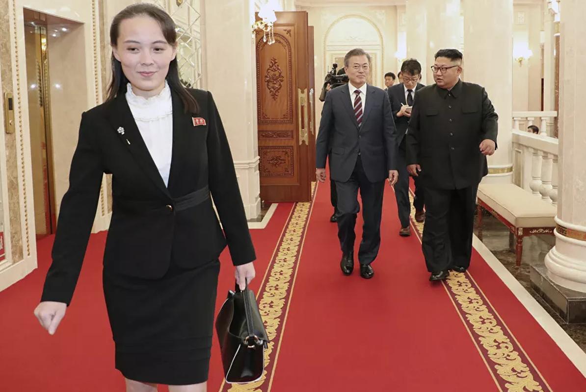 Loat anh hiem ve nguoi em gai quyen luc cua ong Kim Jong-un-Hinh-8