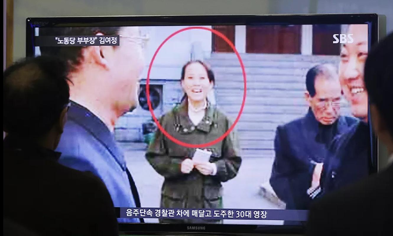 Loat anh hiem ve nguoi em gai quyen luc cua ong Kim Jong-un-Hinh-4