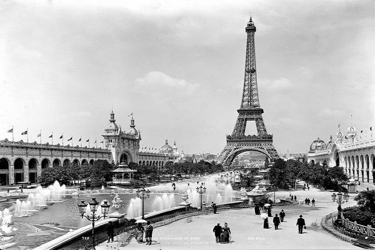 Ngo ngang cuoc song o thu do Paris qua loat anh lich su