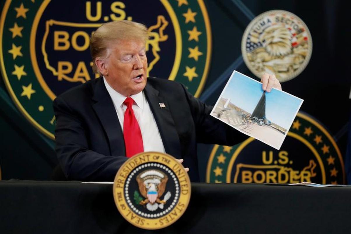 Tham buc tuong bien gioi My-Mexico, Tong thong Trump tuyen bo bat ngo-Hinh-9