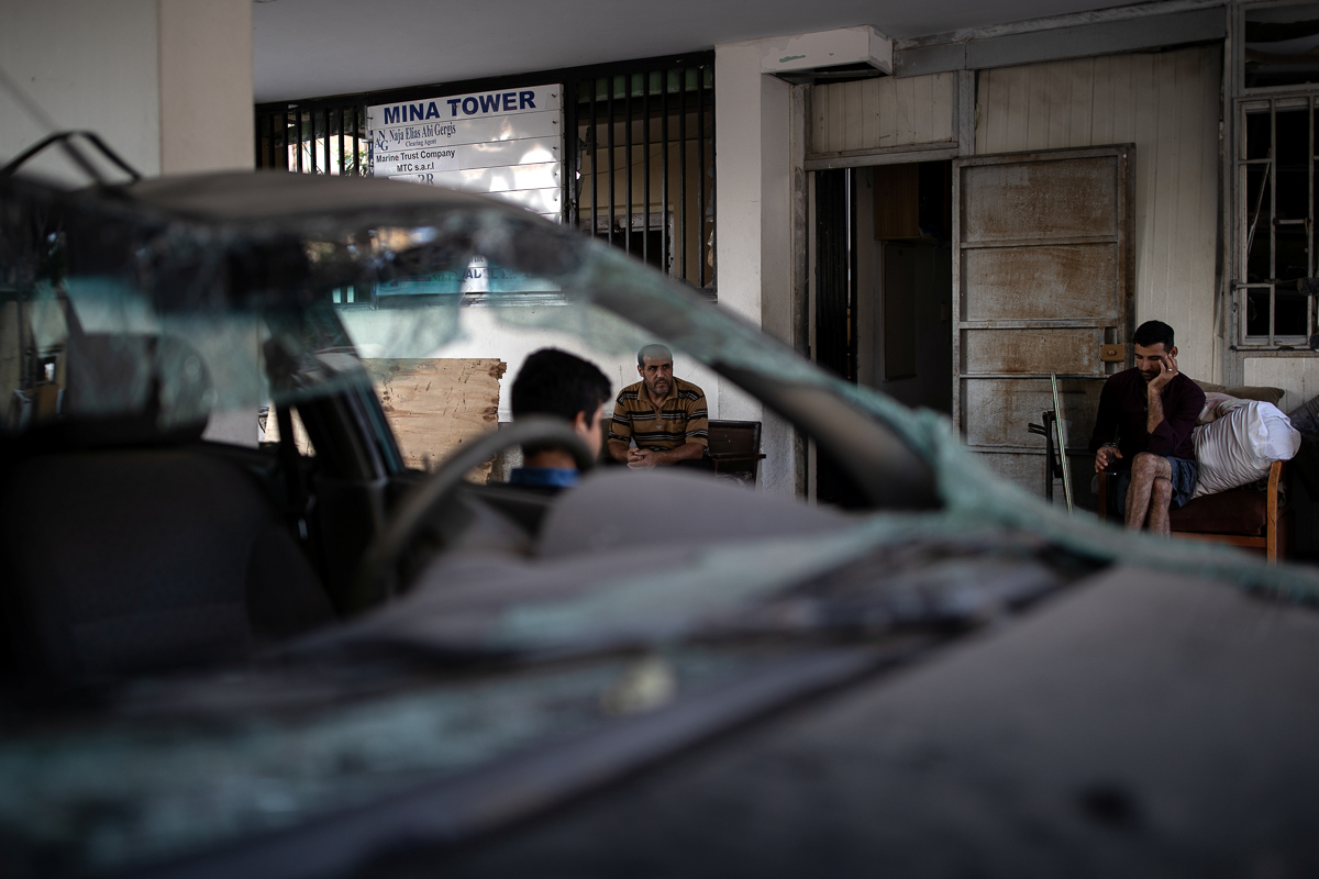 Nhoi long cuoc song o khu dan cu ngheo nhat Beirut sau tham hoa-Hinh-8