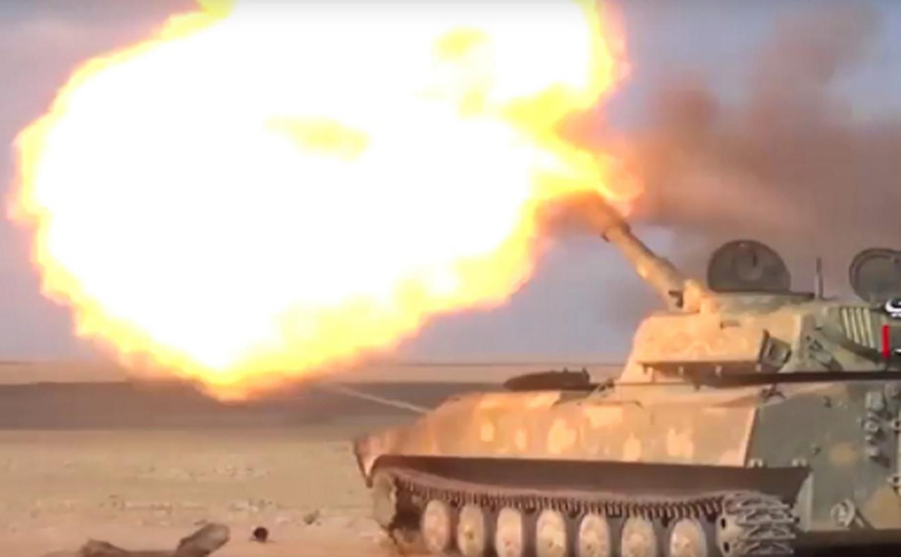 Quan doi Syria ban ha may bay khong nguoi lai Tho Nhi Ky-Hinh-7