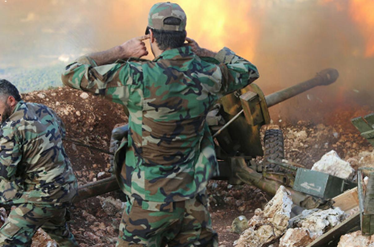 Quan doi Syria ban ha may bay khong nguoi lai Tho Nhi Ky-Hinh-8