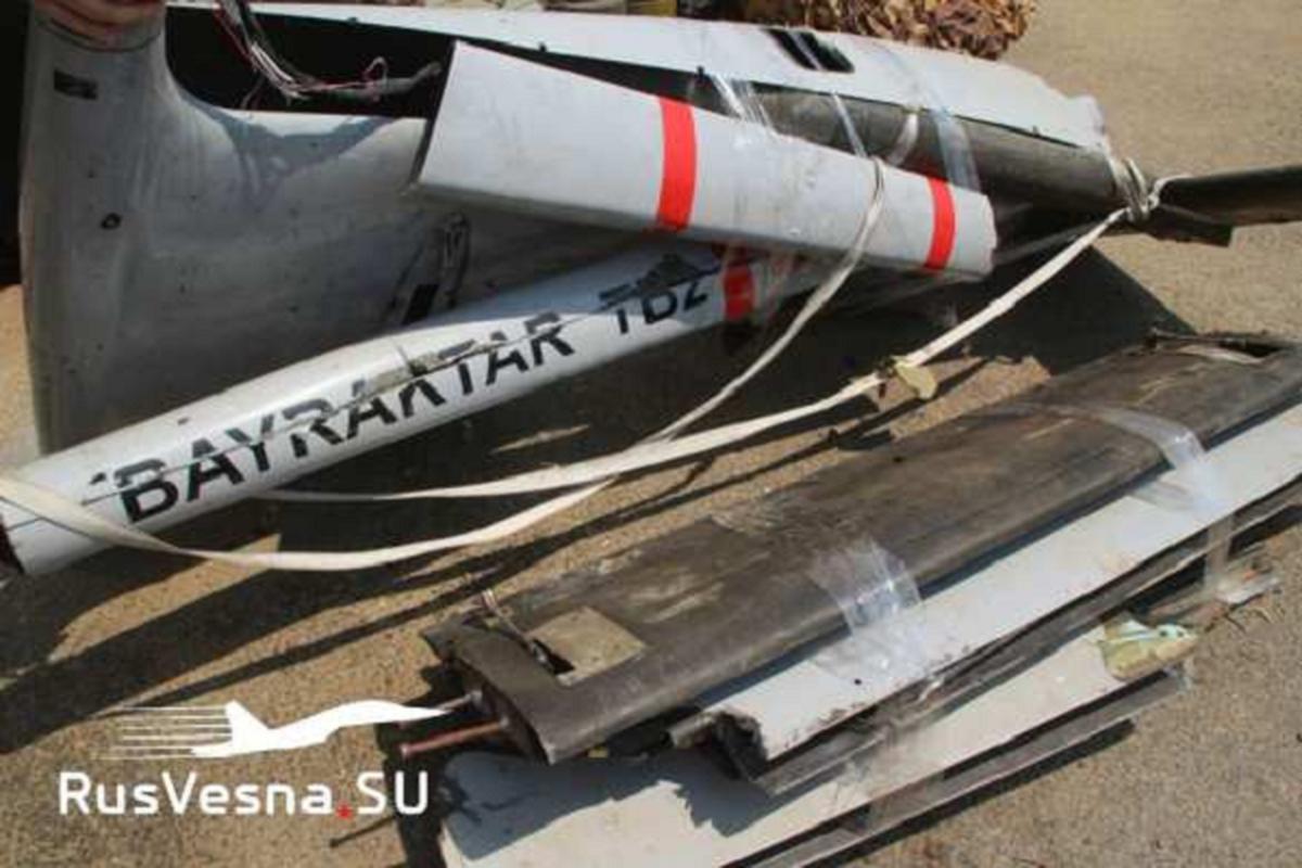 Quan doi Syria ban ha may bay khong nguoi lai Tho Nhi Ky