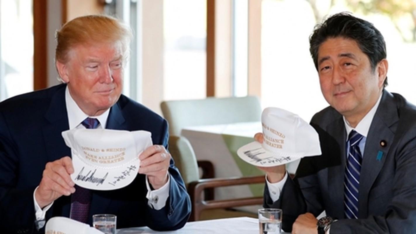 "Thu tuong Abe va nhung lan ""ngoai giao san golf"" voi Tong thong Trump-Hinh-7"