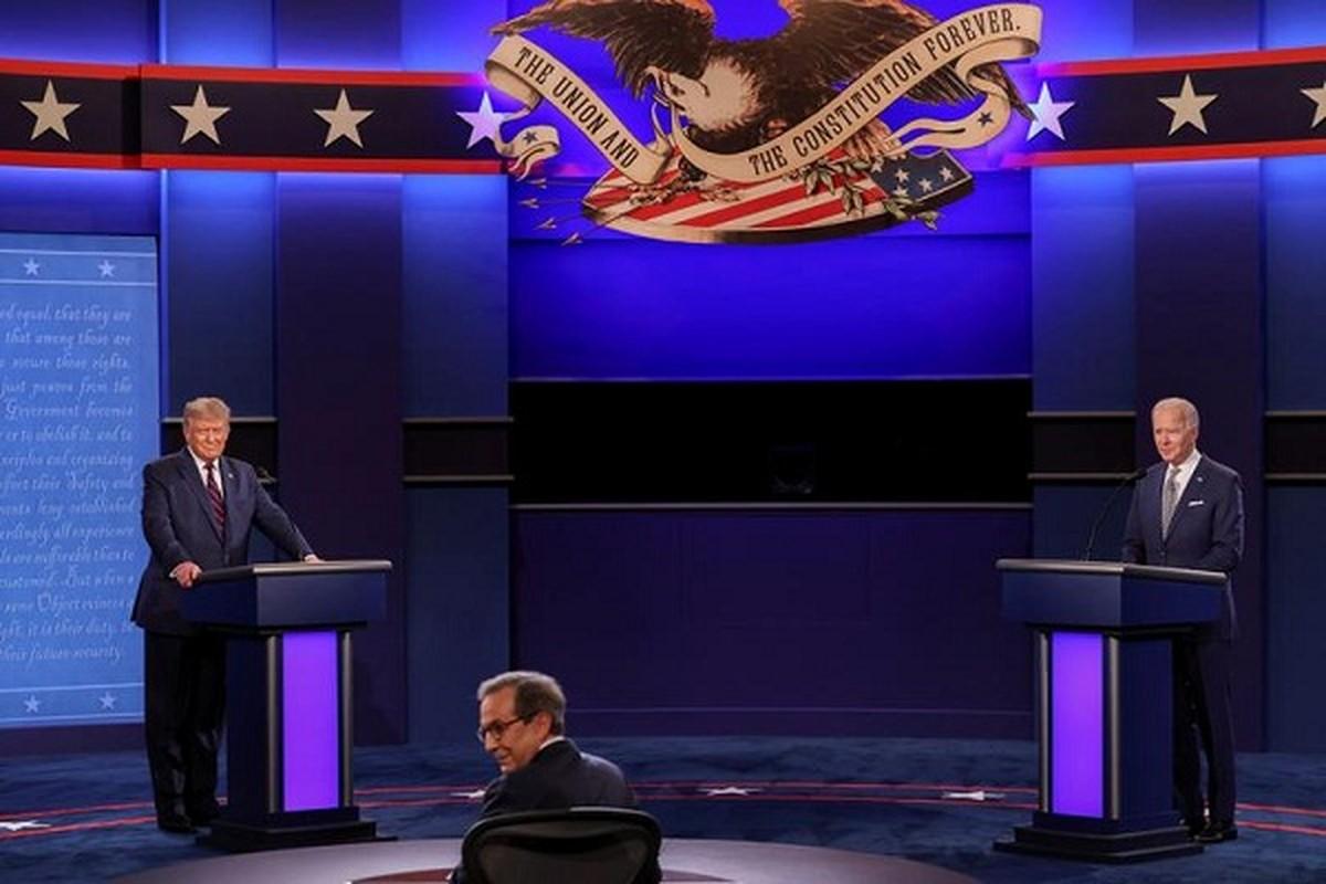 Hau tranh luan lan 1 cua ong Trump-Biden: Bao nhieu cu tri doi y?
