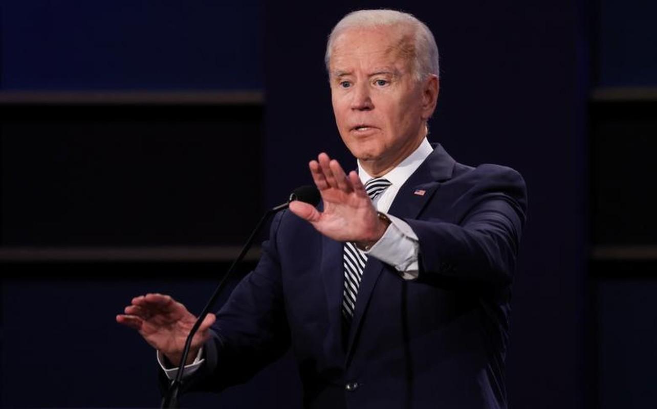 Hinh anh dau tien trong cuoc tranh luan giua ong Trump - Biden-Hinh-6