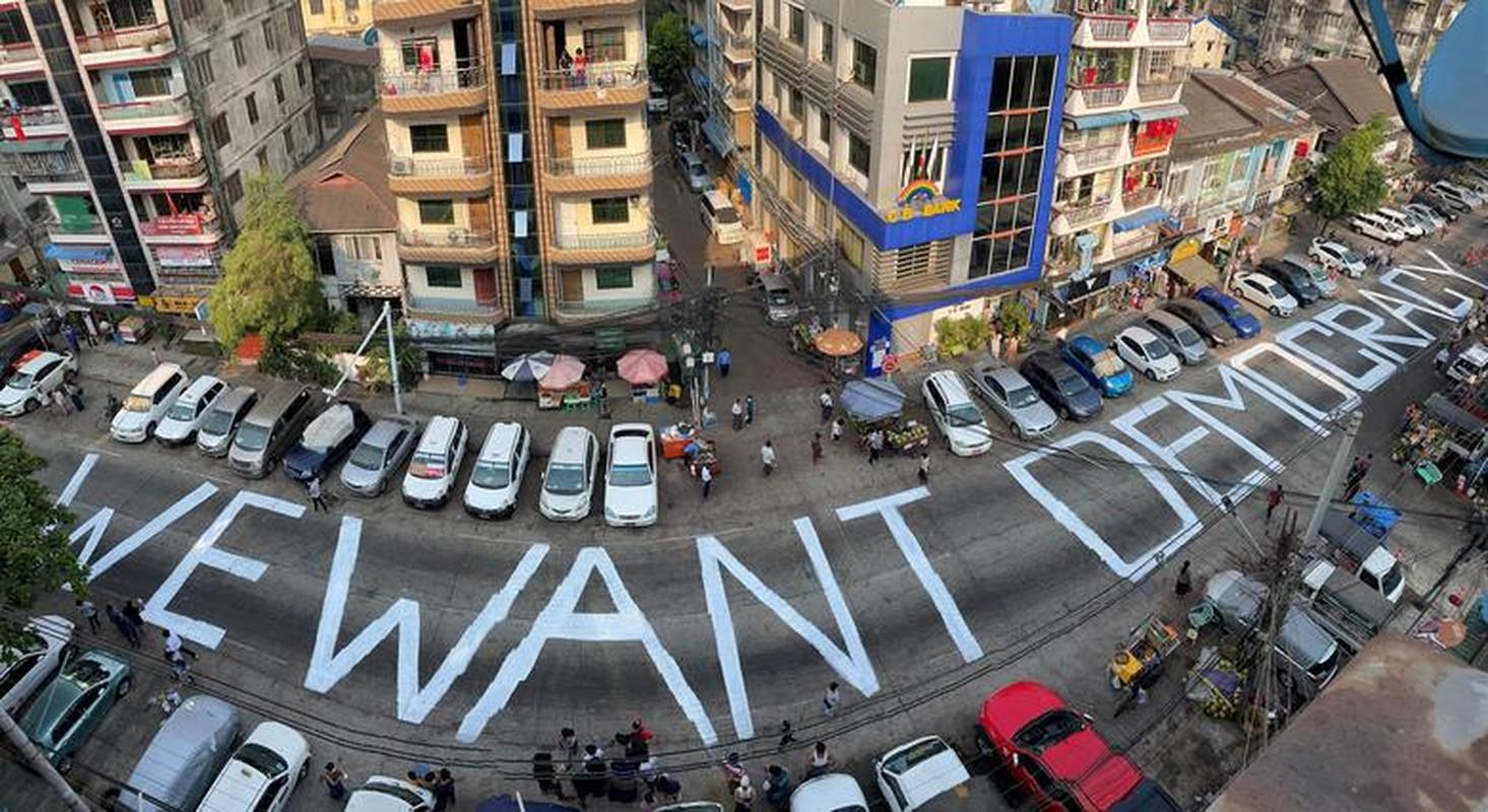 "Bieu tinh o Myanmar: Khi nao moi ""ha nhiet""?-Hinh-5"