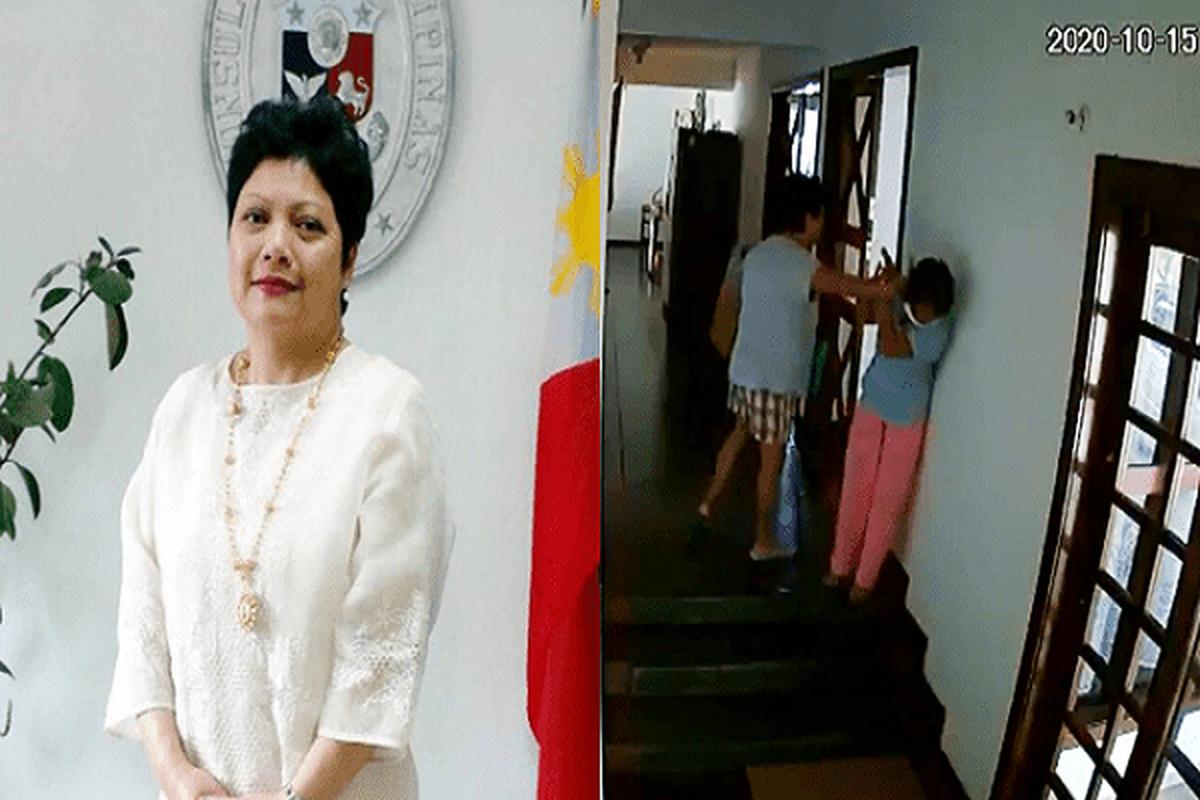 Chan dung Dai su Philippines bi sa thai vi bao hanh nguoi giup viec