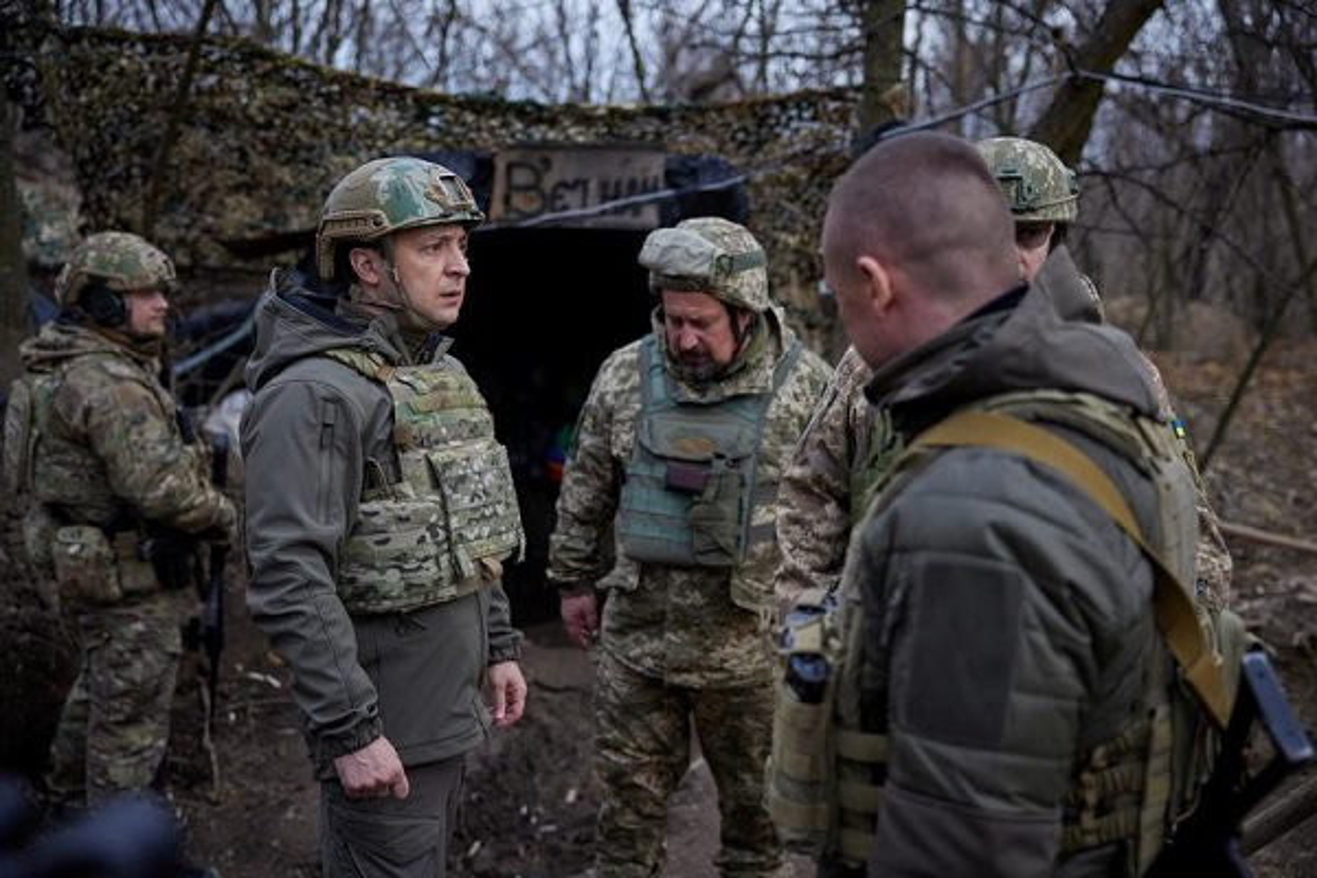 Cang thang mien Dong Ukraine leo thang: Tong thong Zelensky co dong thai bat ngo-Hinh-6