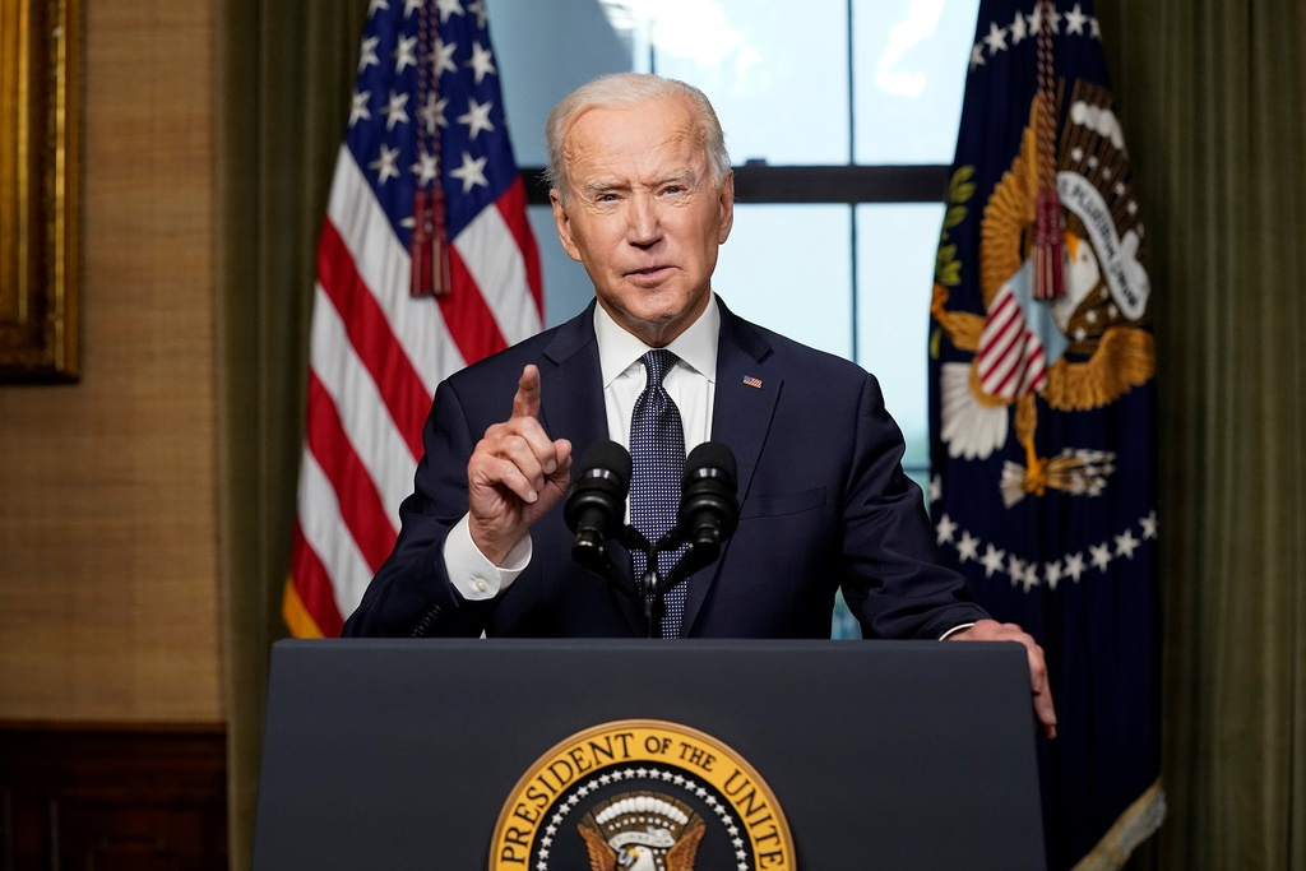 Tong thong Biden khoc sau khi thong bao rut quan khoi Afghanistan-Hinh-2