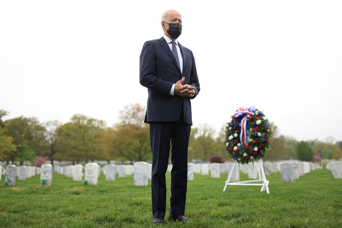 Tong thong Biden khoc sau khi thong bao rut quan khoi Afghanistan-Hinh-5