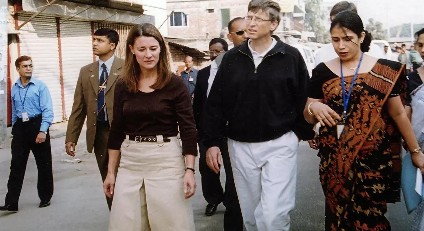 Khoanh khac hanh phuc cua Bill Gates va vo cu truoc khi ly hon-Hinh-6
