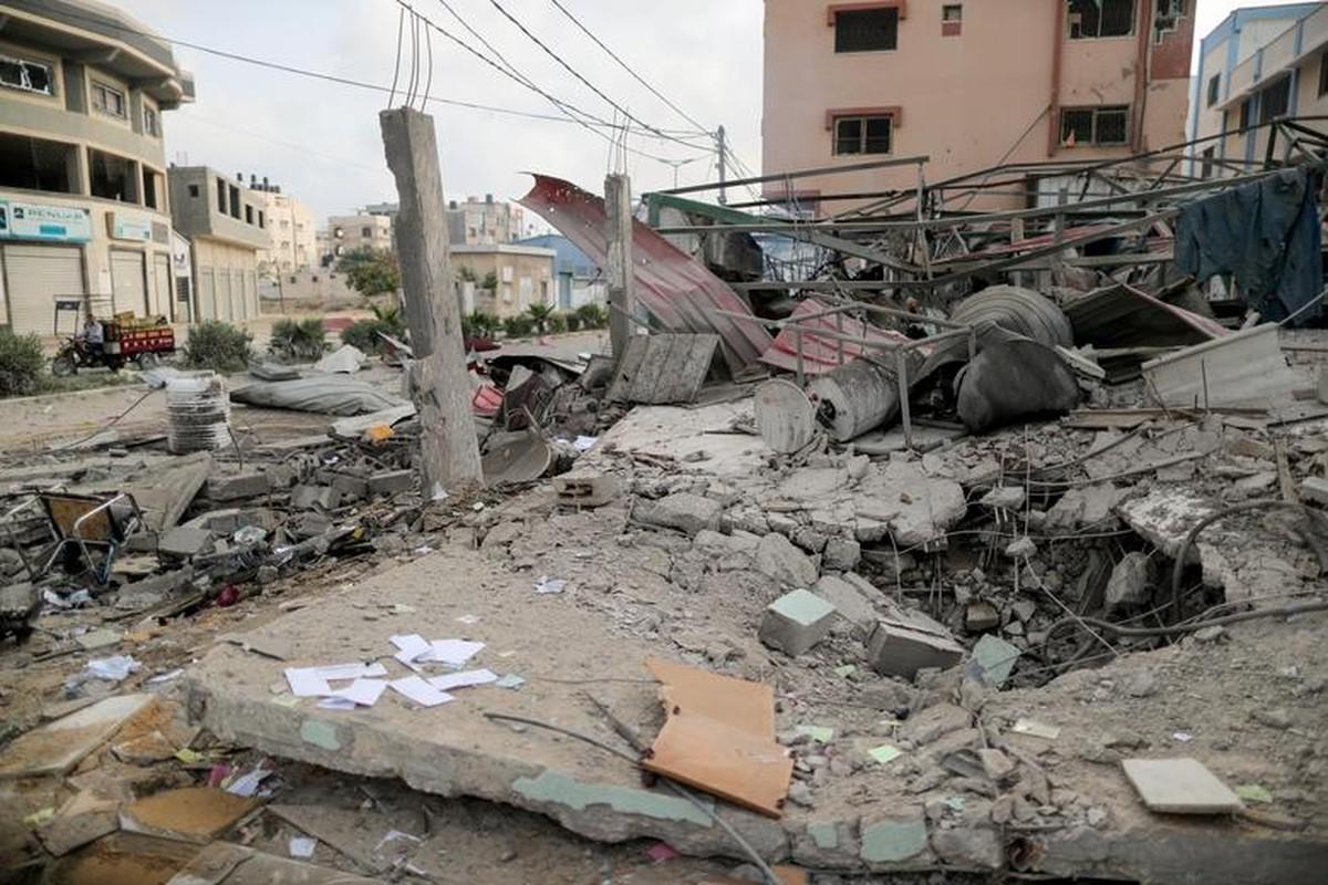 Can canh Dai Gaza tan hoang sau don khong kich cua Israel-Hinh-10