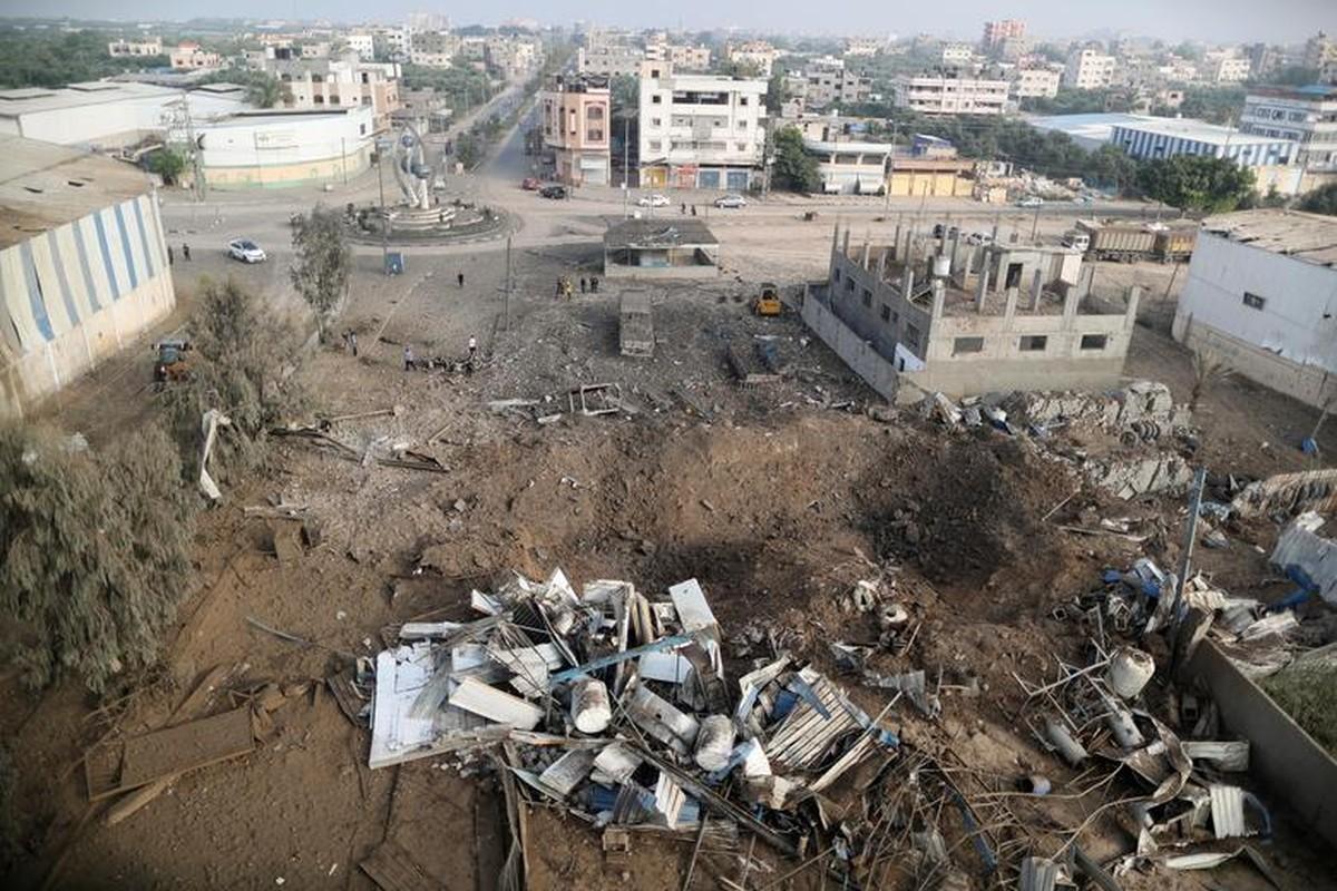 Can canh Dai Gaza tan hoang sau don khong kich cua Israel-Hinh-12