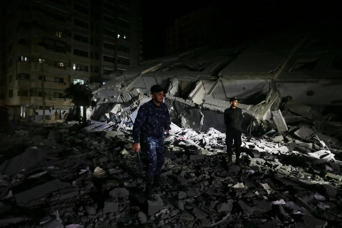 Can canh Dai Gaza tan hoang sau don khong kich cua Israel-Hinh-2