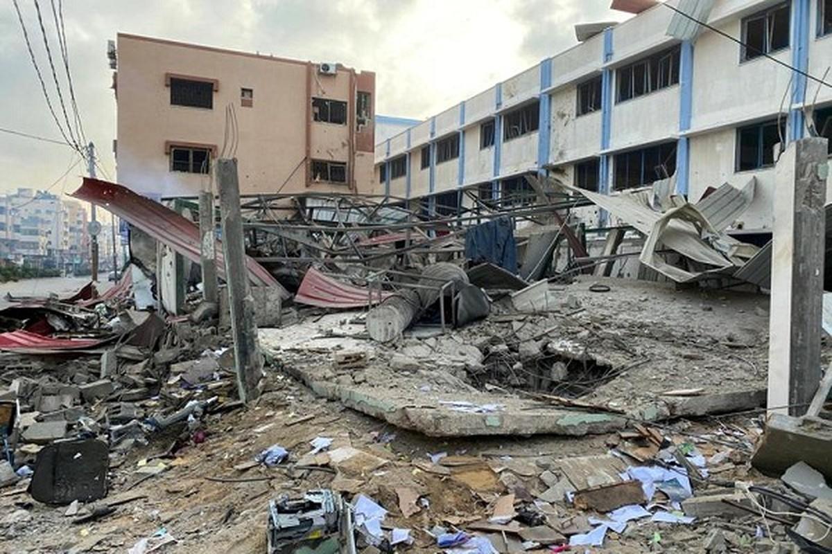 Can canh Dai Gaza tan hoang sau don khong kich cua Israel-Hinh-5