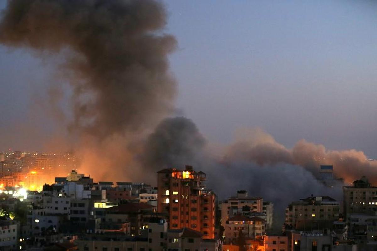 Can canh toa thap 13 tang o Gaza bi Israel san phang-Hinh-12