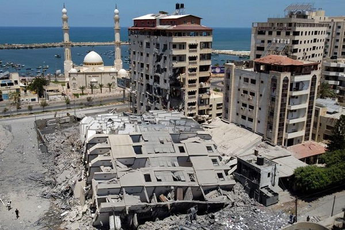 Can canh toa thap 13 tang o Gaza bi Israel san phang-Hinh-4