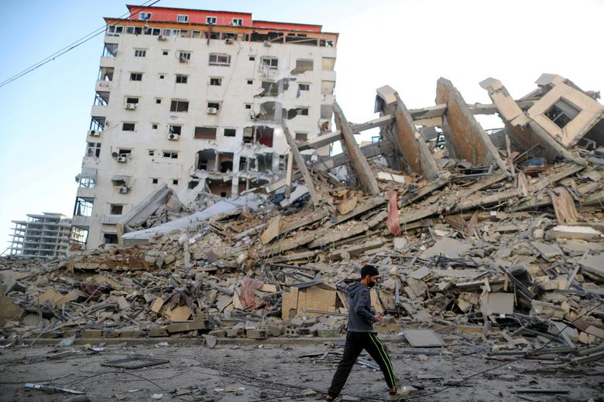 Can canh toa thap 13 tang o Gaza bi Israel san phang-Hinh-5