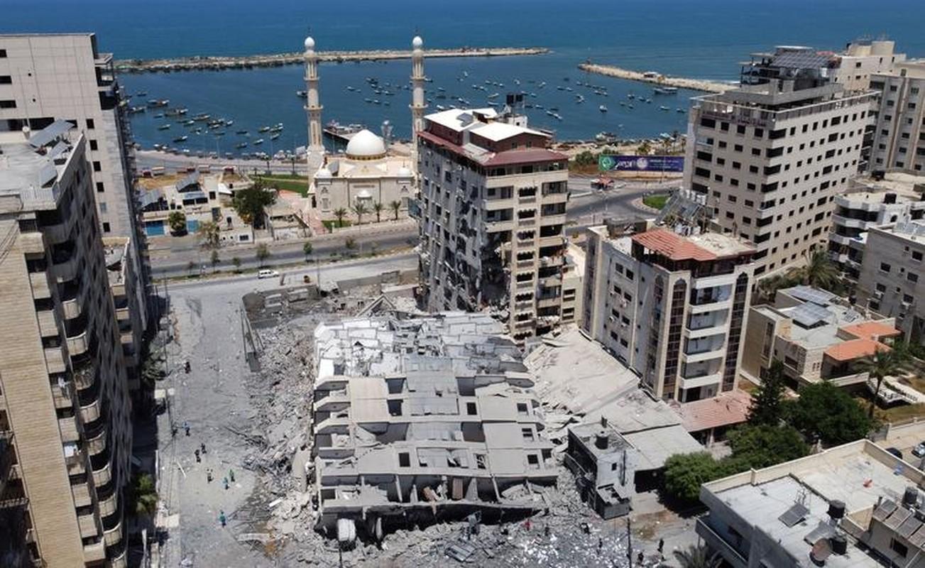 Can canh toa thap 13 tang o Gaza bi Israel san phang-Hinh-8