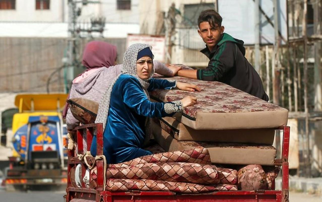 Canh nguoi dan Gaza lu luot so tan vi don khong kich cua Israel-Hinh-13