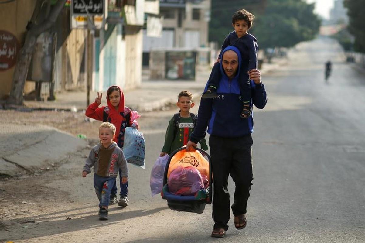 Canh nguoi dan Gaza lu luot so tan vi don khong kich cua Israel-Hinh-2