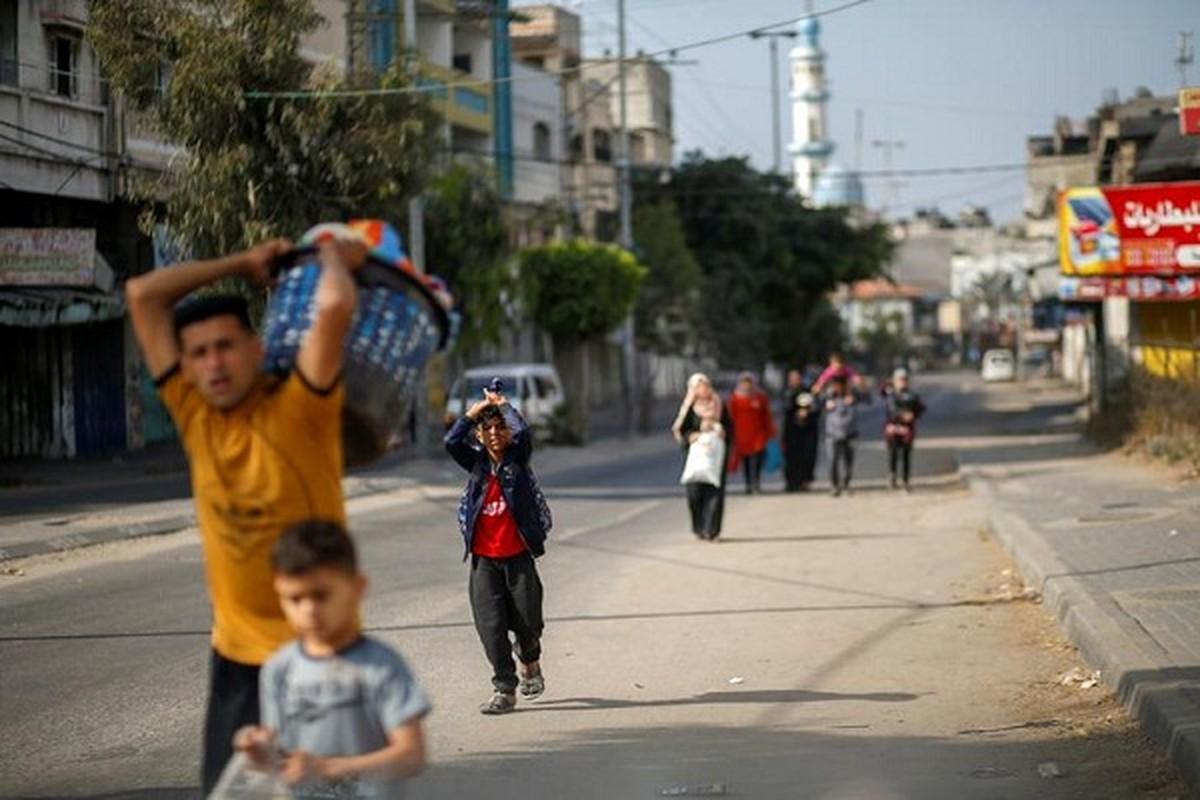 Canh nguoi dan Gaza lu luot so tan vi don khong kich cua Israel-Hinh-4