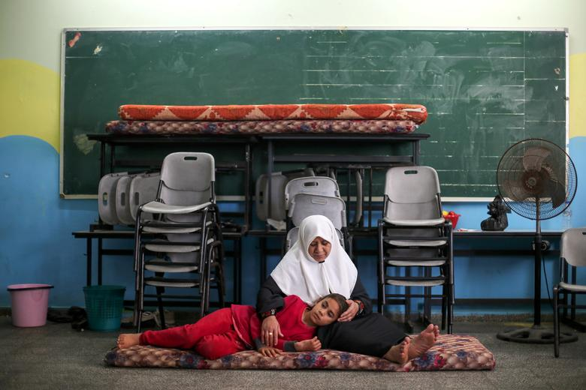 Canh nguoi dan Gaza lu luot so tan vi don khong kich cua Israel-Hinh-6