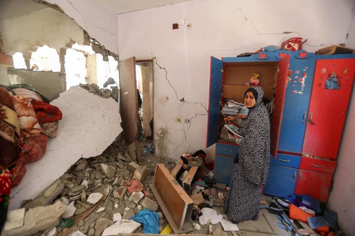 Canh nguoi dan Gaza lu luot so tan vi don khong kich cua Israel-Hinh-9