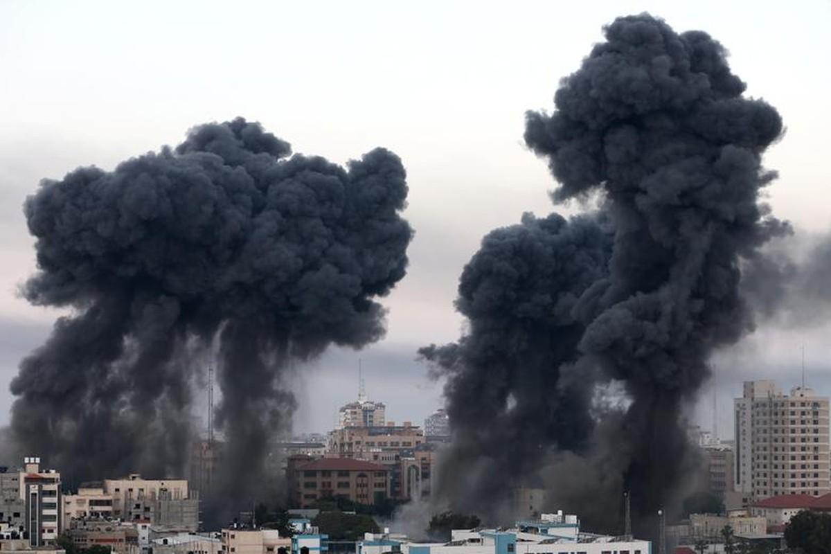 Canh nguoi dan Gaza lu luot so tan vi don khong kich cua Israel