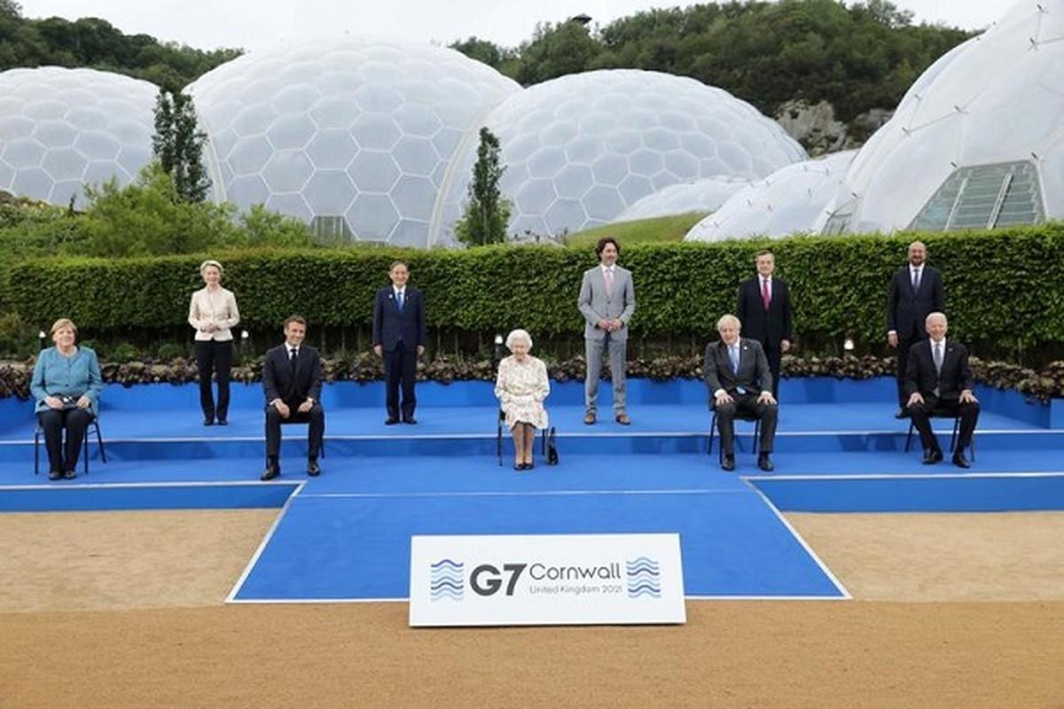 Diem nhan trong 3 ngay Hoi nghi thuong dinh G7 tai Anh