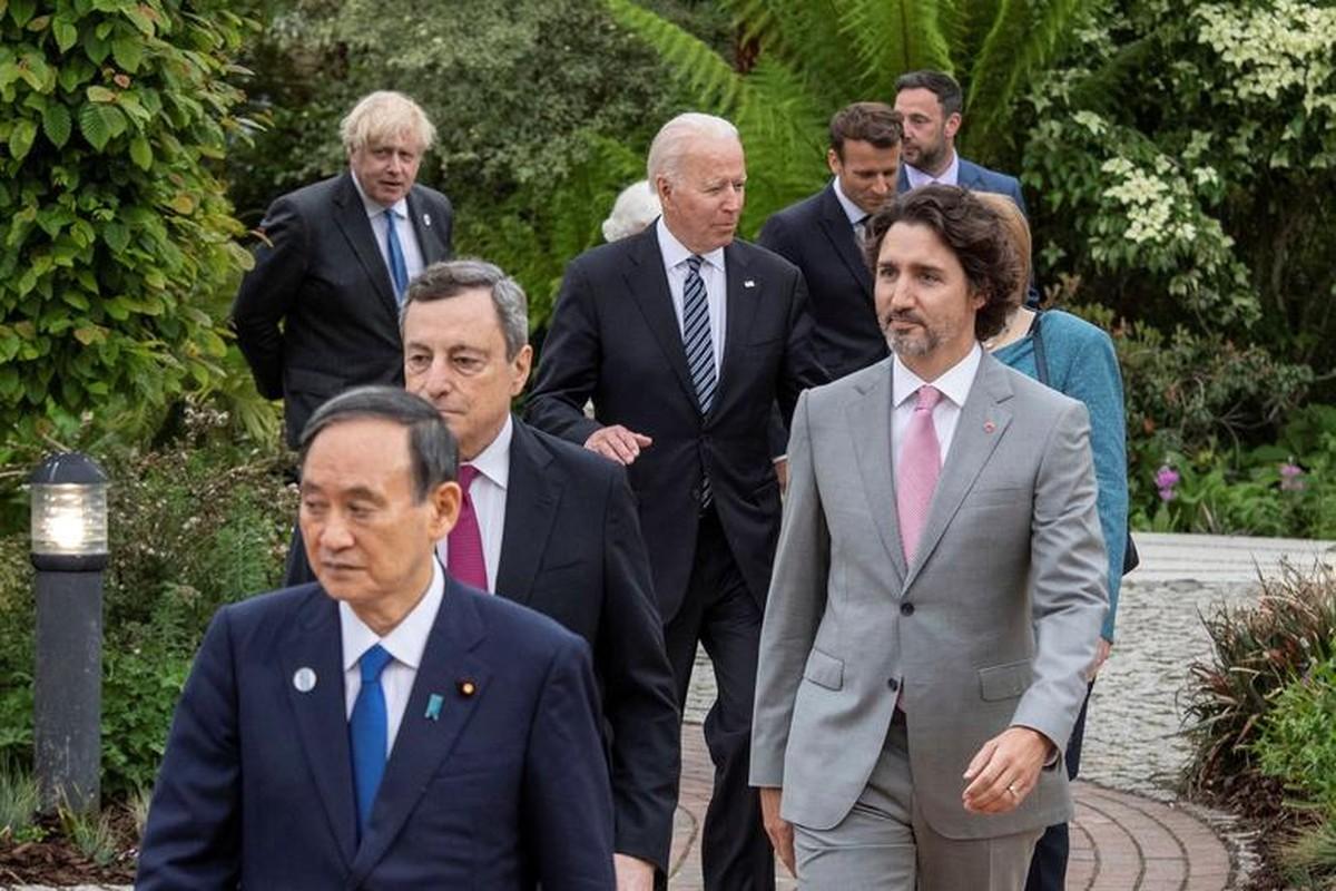 Khoanh khac an tuong cac nha lanh dao the gioi tai G7-Hinh-8