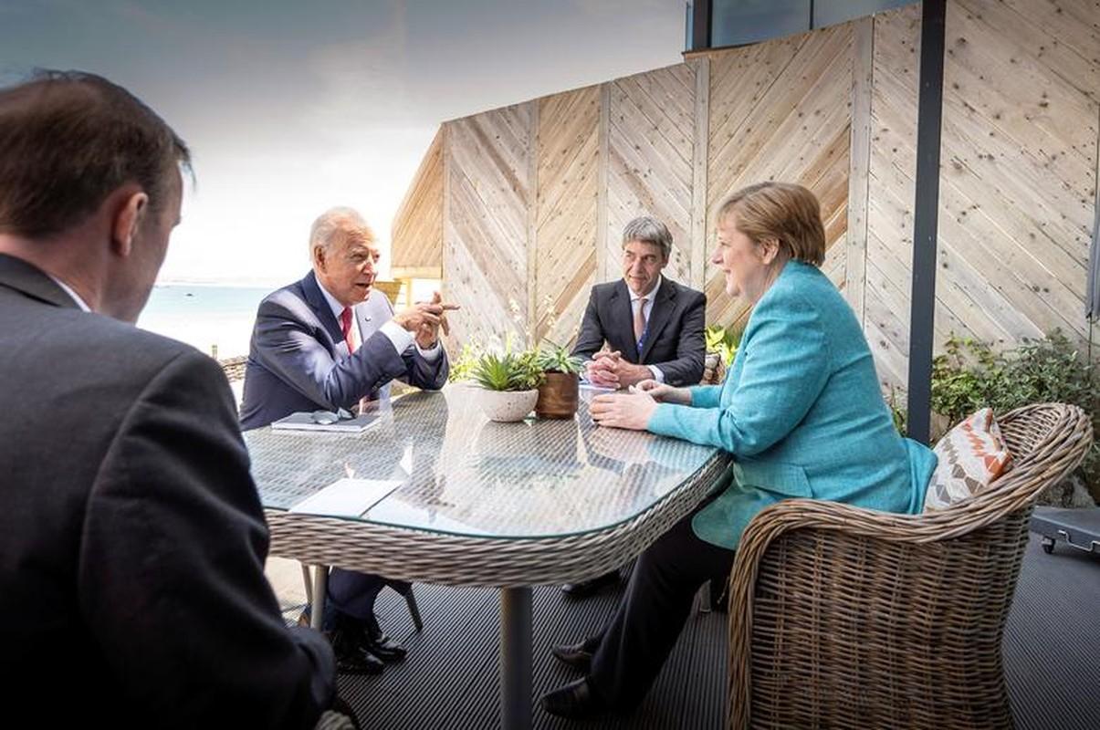 Khoanh khac an tuong cac nha lanh dao the gioi tai G7