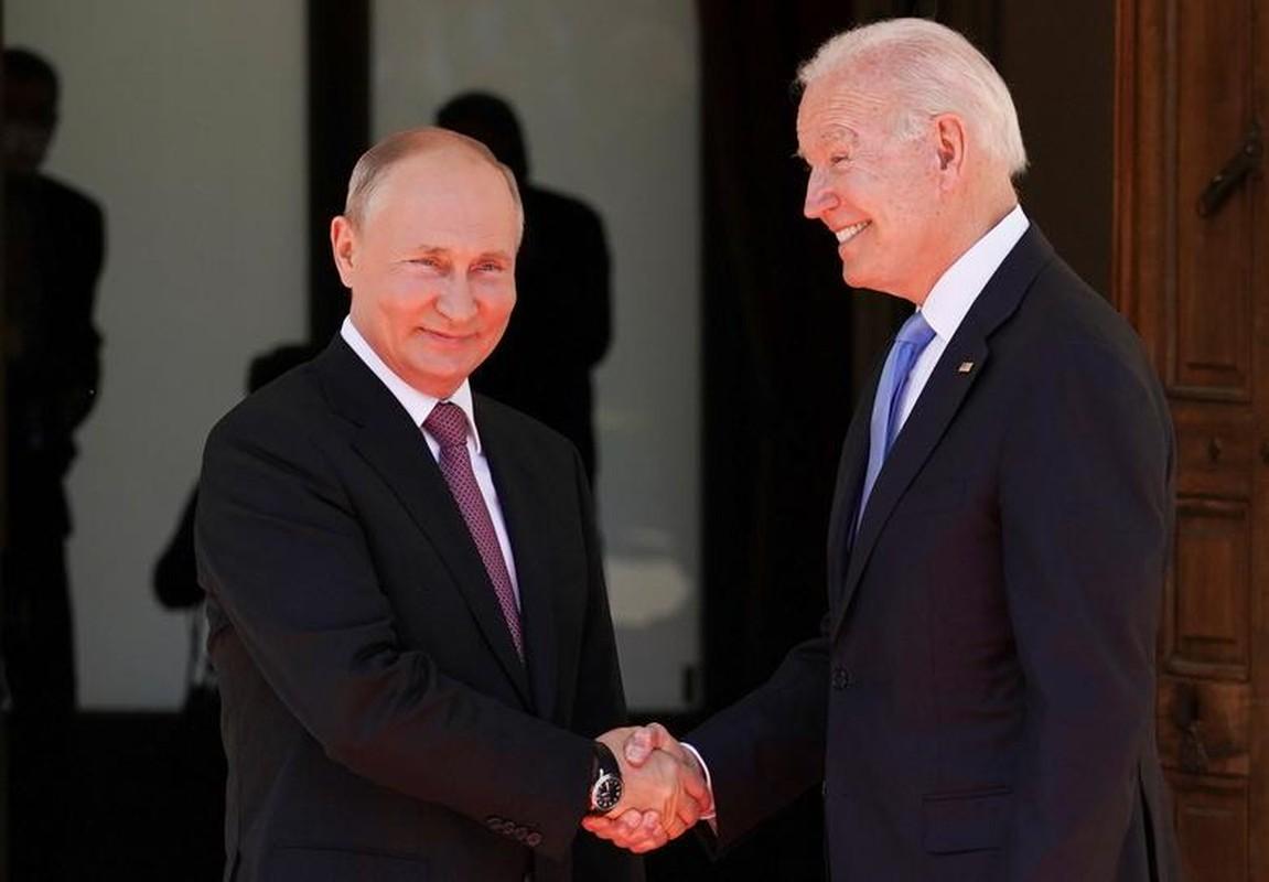 Toan canh cuoc gap thuong dinh Putin - Biden