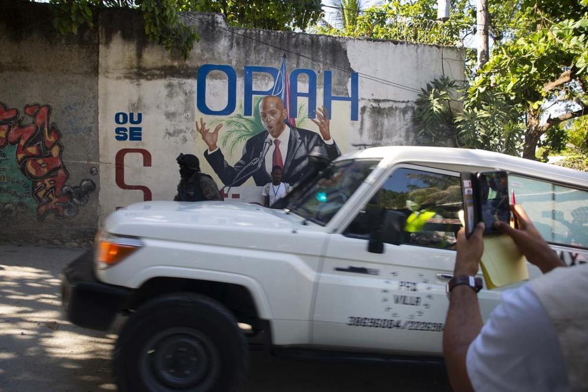 Can mat nghi pham vu am sat Tong thong Haiti Jovenel Moise-Hinh-7