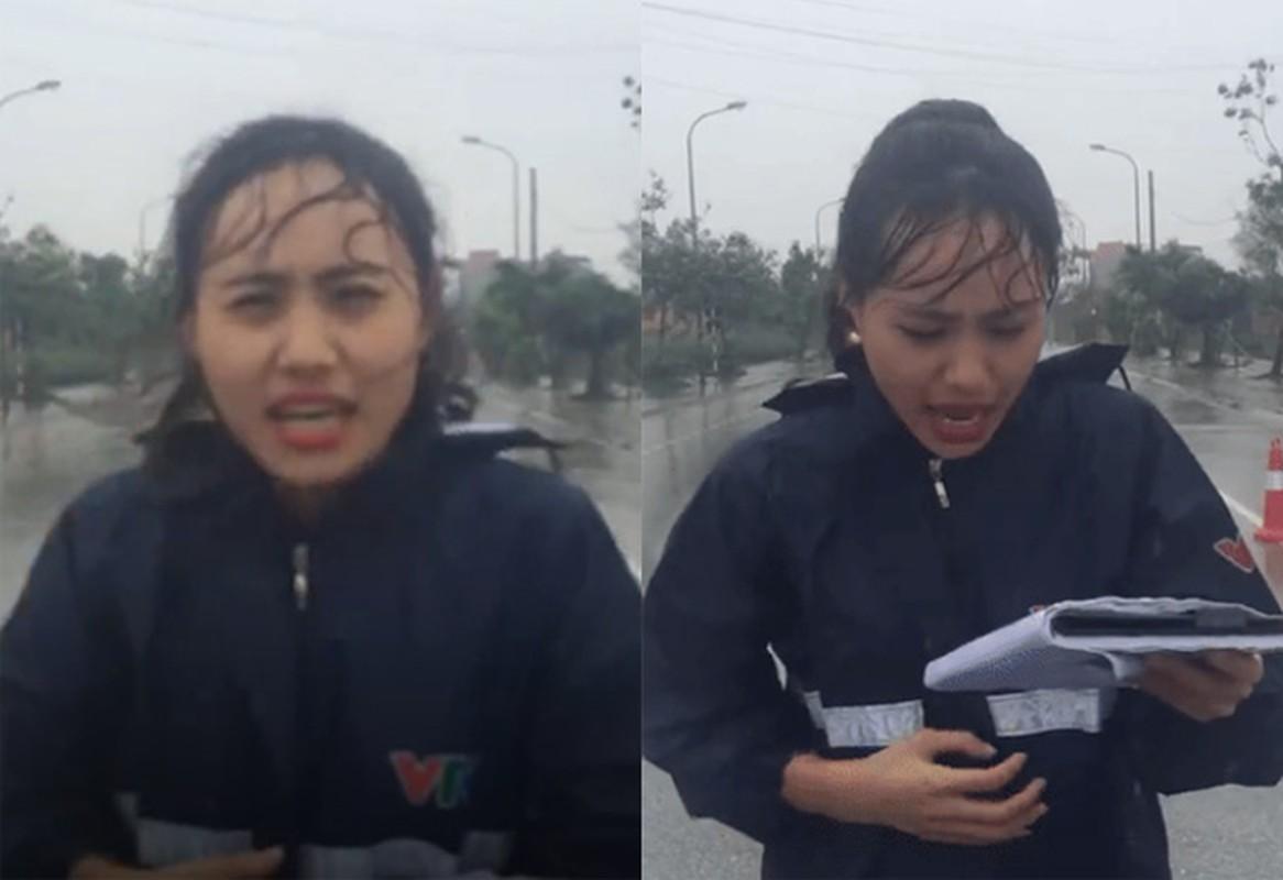 """Nhan sac nu MC thoi tiet bi """"nem da"""" ngay mua bao-Hinh-2"""
