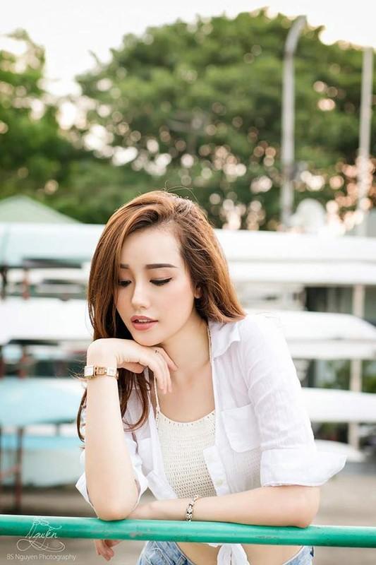Ngam 4 hotgirl Ngoai thuong xinh nhu Hoa hau Do My Linh-Hinh-11