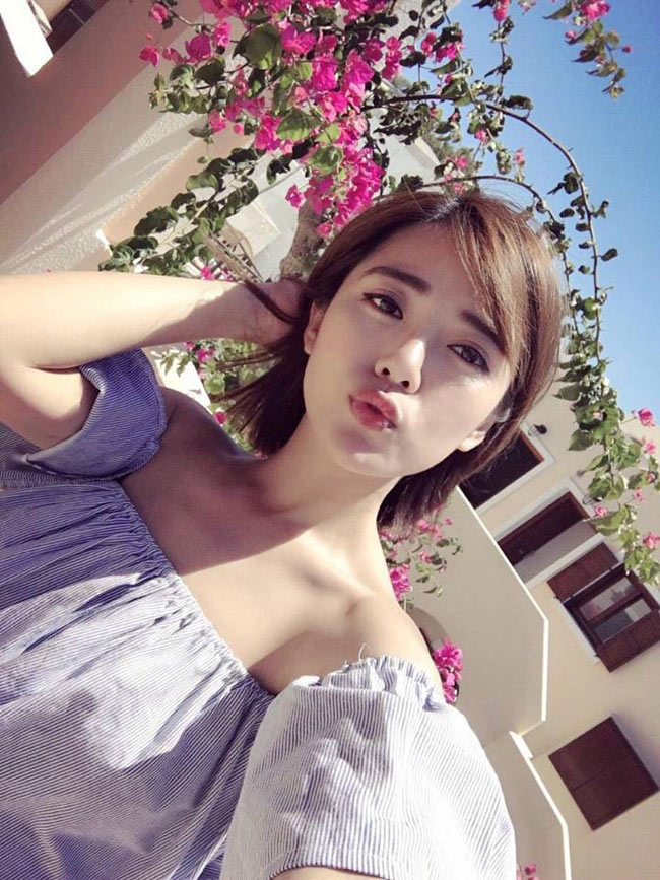 Ngam 4 hotgirl Ngoai thuong xinh nhu Hoa hau Do My Linh-Hinh-3