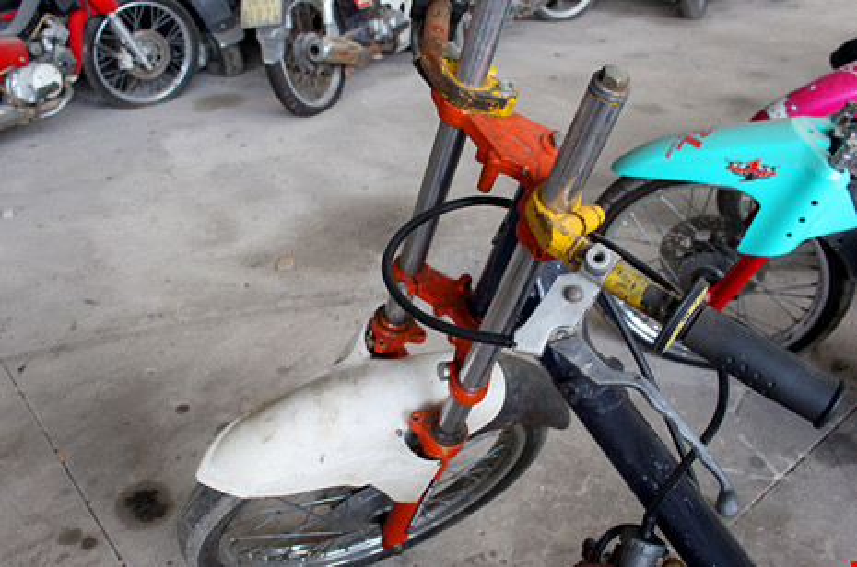 "Hoang hon voi hinh thu ""quai di"" phuong tien dua xe trai phep-Hinh-13"