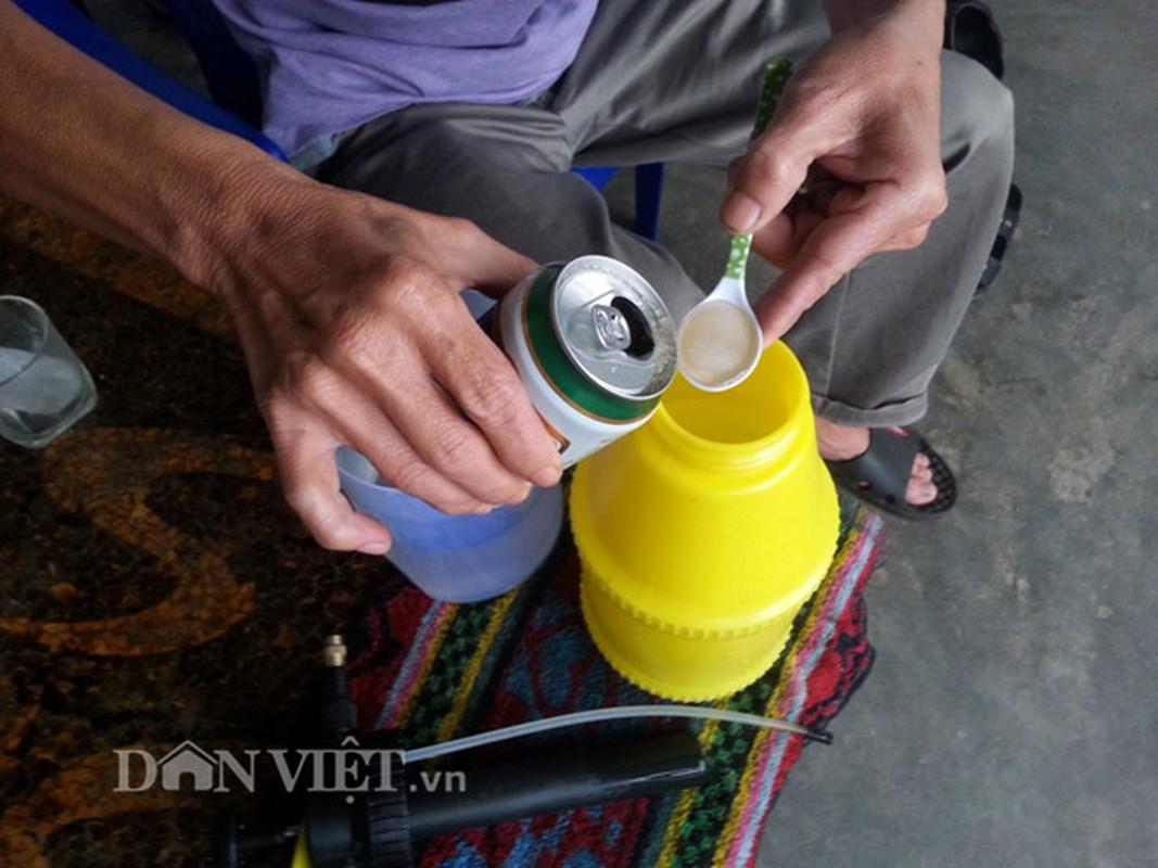 Chieu doc: Dung bia de tuoi cay, bon nam o Phu Yen