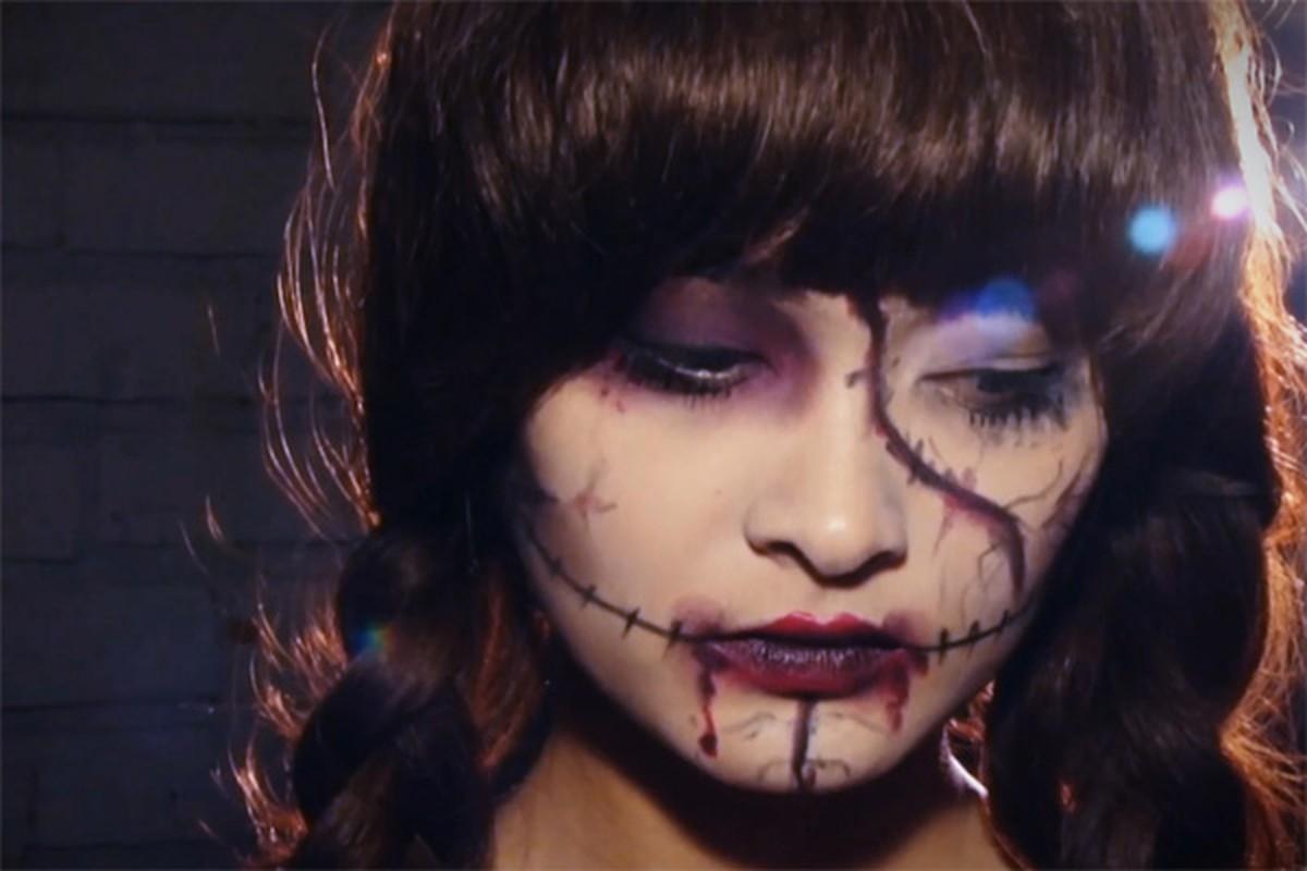 Nhũng tác hại kinh hoàng của viẹc hoa trang Halloween-Hinh-3