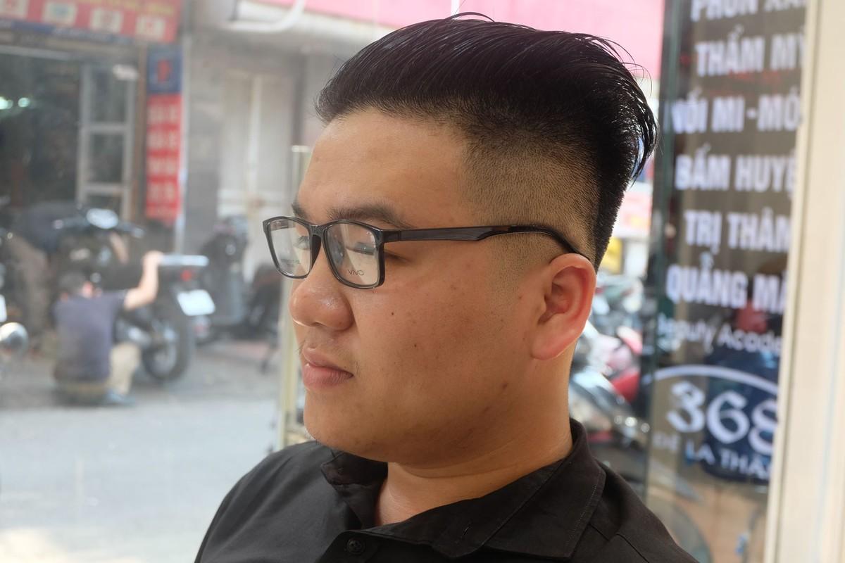 Gioi tre Ha Noi hao hung cat toc giong ong Trump va Kim Jong-Un-Hinh-2