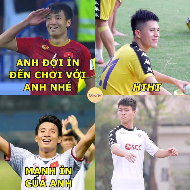 Loat anh che hai huoc chao mung cau thu Dinh Trong ve nuoc-Hinh-3